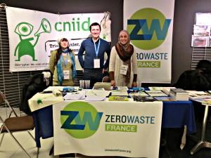 Zero wasters francesi e collaboratori CNIID - Bobigny, febbraio 2014