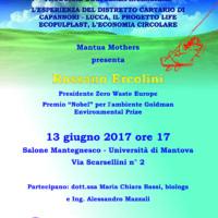 Non Bruciamo il Futuro – Ercolini a Mantova – 13 giugno 2017